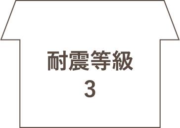 耐震等級 3