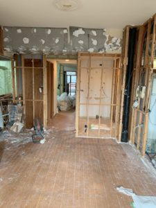 半田市 マンション 改装工事 水廻り キッチン 浴室 洗面 トイレ 解体 床 壁