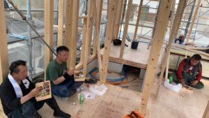 新築 東浦町 新築一戸建て 上棟 建方 建前 注文住宅 自由設計 マイホーム マイホーム計画 家づくり 家を建てたい